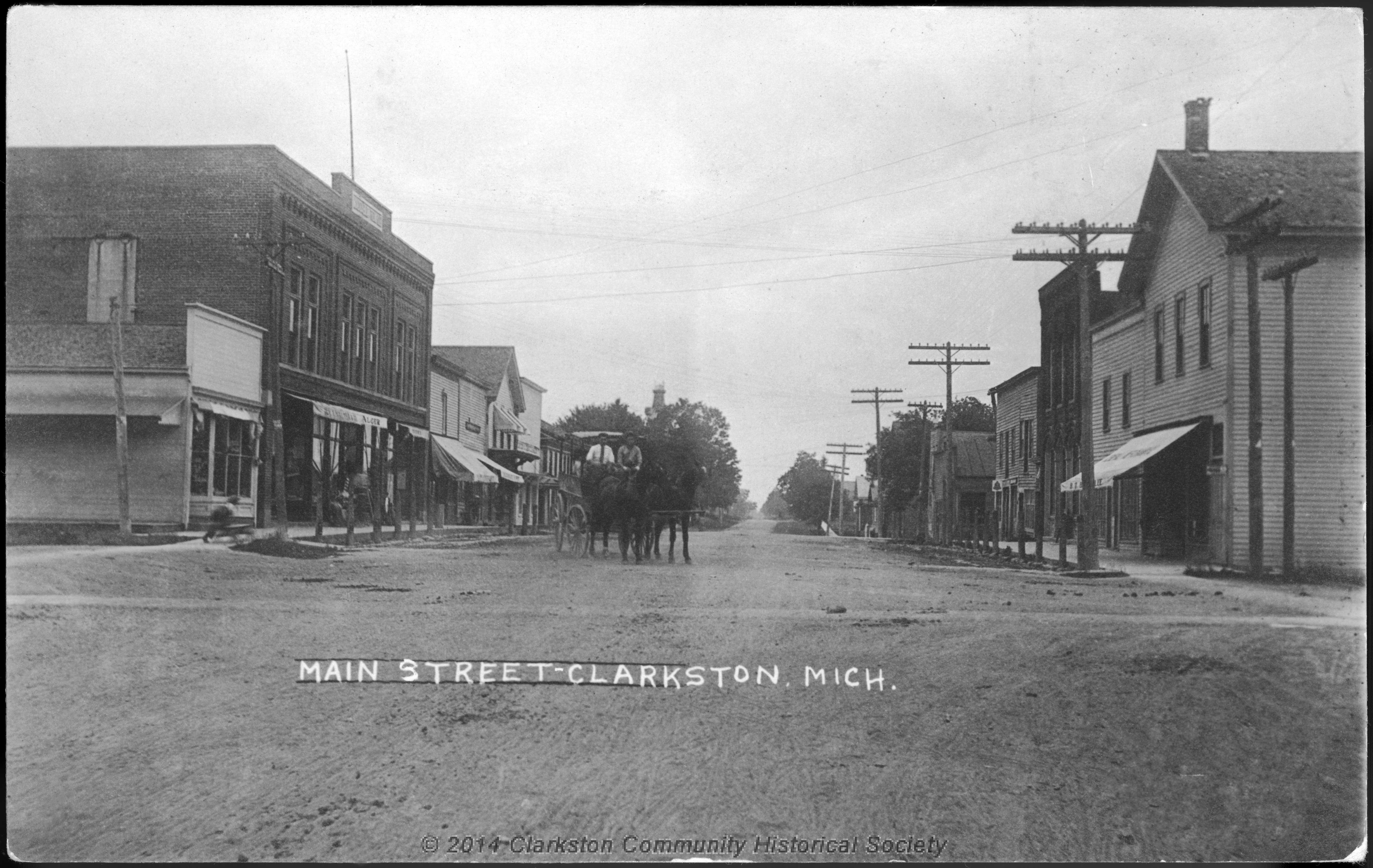 South Main Street, c. 1900