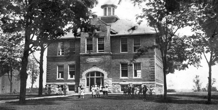 Clarkston Union School, c. 1915
