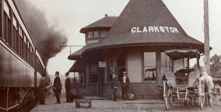 Train Depot, c. 1900